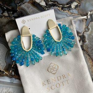 NWT Kendra Scott Diane Beaded statement earrings